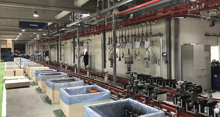 Komexo HP Valves smart productieproces